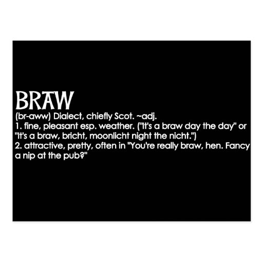 Braw Post Cards