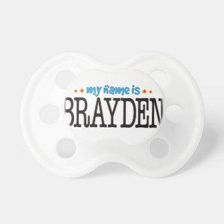 Brayden Name Baby Pacifier