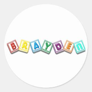 Brayden Sticker