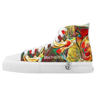 BraynEther Shoes Printed Shoes