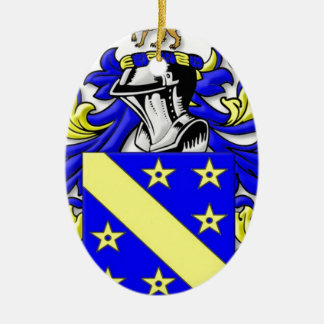 Brayton Coat of Arms Christmas Tree Ornaments