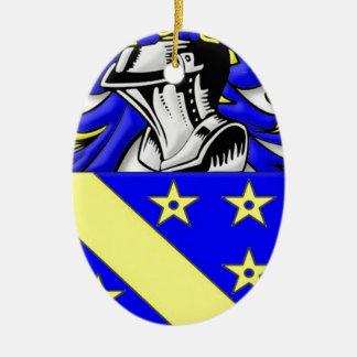 Brayton Coat of Arms Ornament