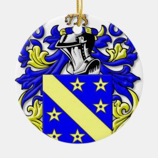 Brayton Coat of Arms Round Ceramic Decoration