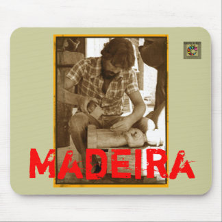 Brazil 1980: Madeira Mouse Pad