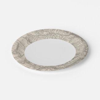 Brazil 2 paper plate