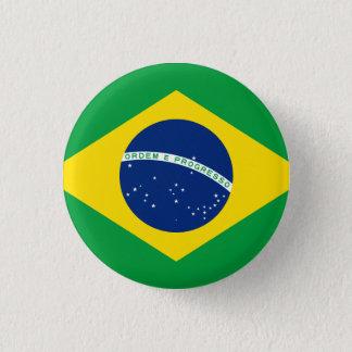 Brazil 3 Cm Round Badge