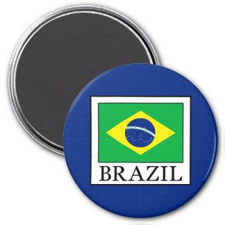 Brazil 7.5 Cm Round Magnet