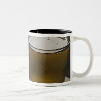 Brazil. A Glass of refreshing Guarana Energy Two-Tone Coffee Mug
