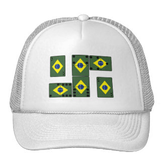 Brazil Ace Cards and Domino's Cap