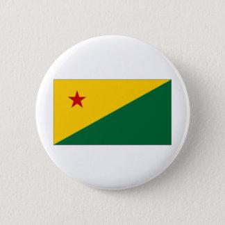 Brazil Acre Flag 6 Cm Round Badge