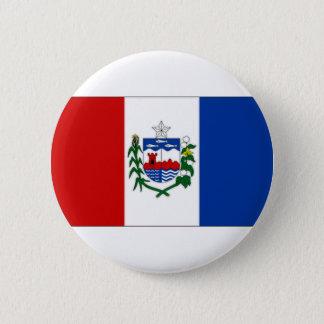 Brazil Alagoas Flag 6 Cm Round Badge