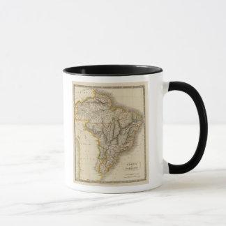 Brazil and Paraguay Mug