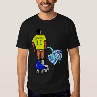 Brazil Argentina rival clássico mundial Tee Shirts
