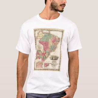 Brazil, Argentine Republic, Paraguay, and Uruguay T-Shirt