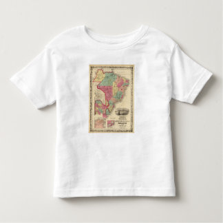 Brazil, Argentine Republic, Paraguay, and Uruguay Toddler T-Shirt