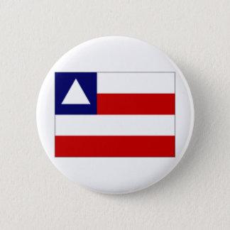 Brazil Bahia Flag 6 Cm Round Badge
