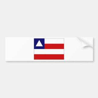 Brazil Bahia Flag Bumper Sticker