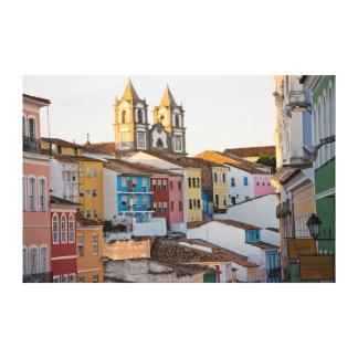 Brazil, Bahia, Salvador, The Oldest City Canvas Print