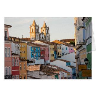 Brazil, Bahia, Salvador, The Oldest City Card
