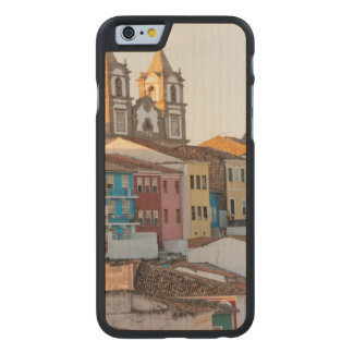 Brazil, Bahia, Salvador, The Oldest City Carved Maple iPhone 6 Case