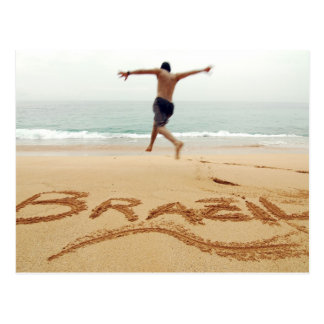 BRAZIL. Barechest man wearing a swimming suit Postcard