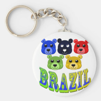 brazil bears key ring