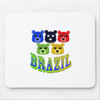 brazil bears mouse mat