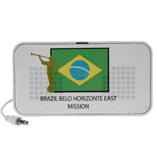 BRAZIL BELO HORIZONTE EAST MISSION LDS NOTEBOOK SPEAKERS