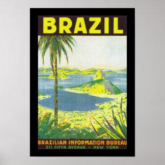 Brazil (border) poster
