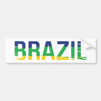 BRAZIL - Brasil Bumper Sticker