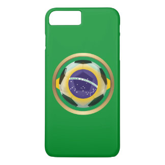 Brazil / Brasil Soccer Ball iPhone 8 Plus/7 Plus Case
