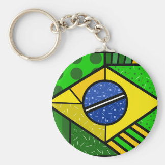 Brazil Brazil brazilian flag Key Ring