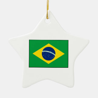 Brazil – Brazilian Flag Christmas Ornaments