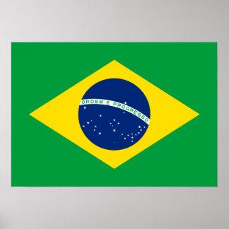 Brazil – Brazilian National Flag Poster