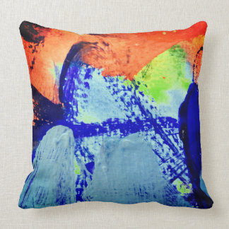 brazil by ines de andrade cushion