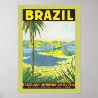 Brazil (canvas) poster