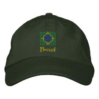 Brazil Cap - Brazilian Flag Hat Embroidered Baseball Caps