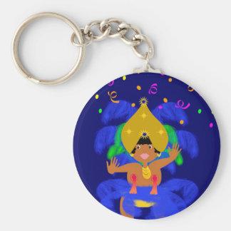 Brazil carnival keychain