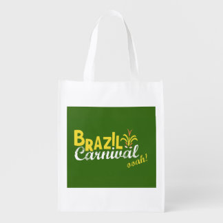Brazil Carnival ooah! bag Reusable Grocery Bag