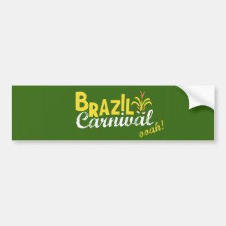 Brazil Carnival ooah! Bumper Sticker