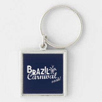 Brazil Carnival ooah! Keychain Square