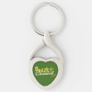 Brazil Carnival ooah Love Keychain Keychains