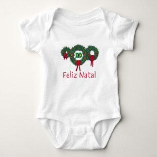 Brazil Christmas 2 Baby Bodysuit