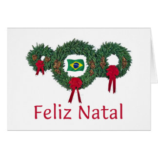 Brazil Christmas 2 Card