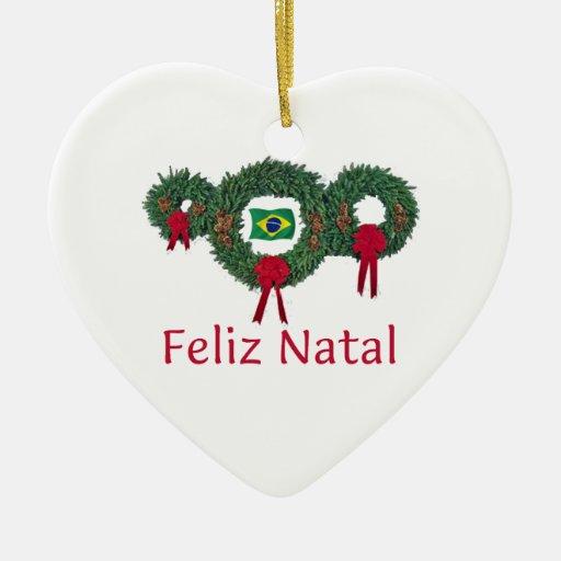Brazil Christmas 2 Christmas Ornament