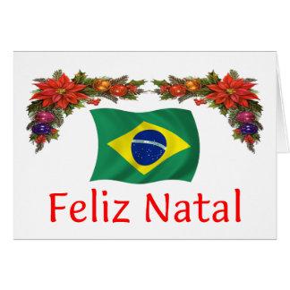 Brazil Christmas Card