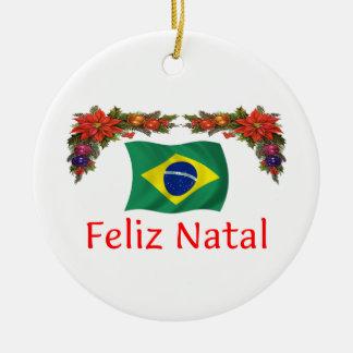 Brazil Christmas Christmas Ornament