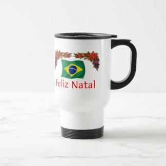 Brazil Christmas Travel Mug