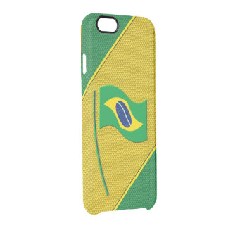 Brazil Clear iPhone 6/6S Case