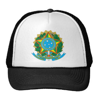 Brazil Coat of Arms Hat